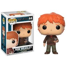 Buy Harry Potter - Ron Weasley (with Scabbers) Pop! Vinyl Figure at Mighty Ape NZ. Harry Potter – Ron Weasley (with Scabbers) Pop! Vinyl Figure Here comes Ron Weasley with his hand-me-down rat, Scabbers, nestled in his left hand. Harry Potter Ron Weasley, Ginny Weasley, Harry Potter Disney, Harry Potter Quidditch, Harry Potter Pop Vinyl, Harry Potter Films, Harry Potter Universal, Hermione Granger, Draco Malfoy