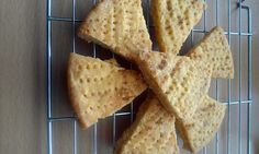"""Vickys Lemon Shortbread, Gluten, Dairy, Egg & Soy-Free! """"A nice hint of lemon gives a great taste to this shortbread""""  @allthecooks #recipe #gluten-free #dessert #cookies #vegan #dairy-free"""