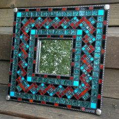 421 Best Mosaic Frames Images Mosaic Mirrors Stained