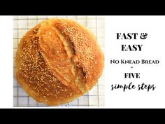 No knead Bread Recipe to make crusty bread with soft and tender crumb inside.This Bread Recipe is one of the easiest No Knead Bread recipes. Dutch Oven Uses, Dutch Oven Cooking, Knead Bread Recipe, No Knead Bread, Honey Wheat Bread, Artisan Bread Recipes, Oatmeal Bread, Vegan Bread, Pitaya