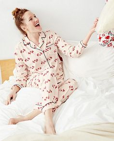 Love, Hanna Pima Cotton PJ Set from #HannaAndersson.