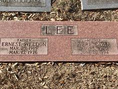 Ernest Weldon Lee (1915 - 1976) - Find A Grave Photos