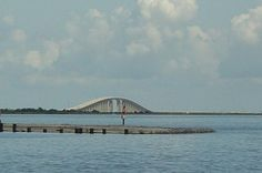 Dauphin Island, Alabama...near panic attack on that bridge, but worth it to get to the island.