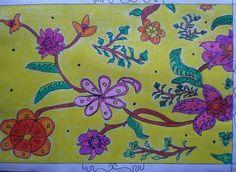 14 Best Ragam Hias Flora Images Flora Plants 3d Wall