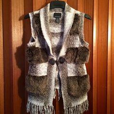 Cynthia Rowley Faux Fur Vest Excellent condition-no damages. Cynthia Rowley Jackets & Coats Vests