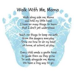 A wonderful message to frame for to frame the nursery!