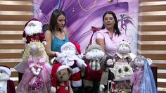 Mulher.com - 30/11/2015 - Papai Noel boneco de pano - Silvia Torres PT1