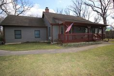 3 Bedroom 2 Car Garage Custom Built Ranch Home Sits Tucked Back In its Own Little Forest! You will love the sweeping front porch. Entry opens to large vaulted great room with Bay window and floor to ceiling brick fireplace. Kitchen with abundance of cabinets and a family sized eating area and 1st...