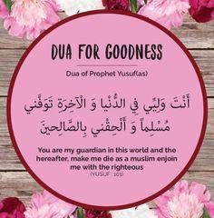 Dua For Goodness ❤
