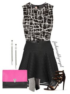 462 by fashionablyroyal on Polyvore featuring polyvore, fashion, style, Marni, Lela Rose, Aquazzura, Proenza Schouler, Sole Society, Tom Binns, Bottega Veneta and clothing
