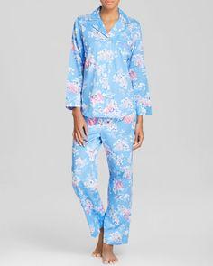 Lauren Ralph Lauren Epsom Sateen Pajama Set | Bloomingdales's