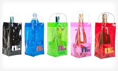 Groupon - $ 5.99 for a Two-Pack of Bottle On Ice Gift Bags ($ 13.98 List Price). Three Color Combinations Available. Free Returns.. Groupon deal price: $5.99