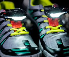 Running Shoe Lights Will Illuminate Your Path - Running when it is dark outside is somewhat of a tricky thing. With these shoe lights you will illuminate your path and keep running even in the dark! - #tech