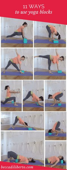 learn how to use yoga blocks to customize your yoga practice | click to watch the video