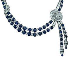 Platinum, diamond, and sapphire.