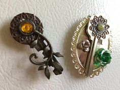 Recycled Key Magnets
