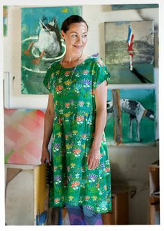 """Tove"" cotton dress – Skirts & dresses – GUDRUN SJÖDÉN – Webshop, mail order and boutiques 