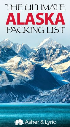 """17 top Alaska packing list items + what to wear & NOT to bring update). A lot of people were asking me, """"What should I pack for Alaska?"""" so I wrote this complete packing checklist which includes what to wear in Alaska. Packing For Alaska, Packing List For Vacation, Packing Checklist, Packing Tips, Vacation Checklist, Cruise Travel, Travel Usa, Travel Tips, Cruise Tips"""
