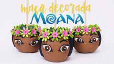Moana Birthday Party, Moana Party, Birthday Parties, Moana Hawaiian, Festa Moana Baby, Bolo Moana, Moana Theme, Fondant, Flamingo Birthday