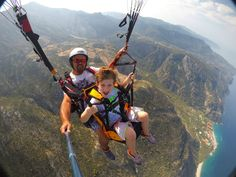 Tandem Paragliding over Oludeniz, Hasan Gunher