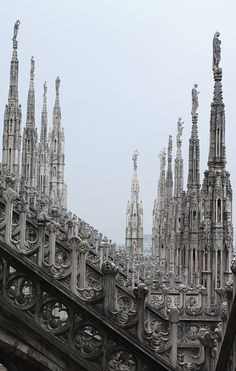 THE MILAN CATHEDRAL, Duomo. DOUGLAS G. STINSON PHOTOGRAPHY.  (****See 2 other Pins in this Board of the Duomo)