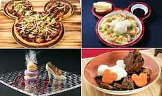 New images reveal the food on offer at Shanghai Disneyland. The resort is set to open on June 16. Innovative dishes include Beijing duck pizza, High Tea and shrimp with steamed rice.