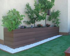 patio decks piedras cesped - Buscar con Google