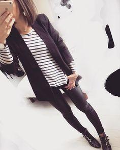 Black, stripes