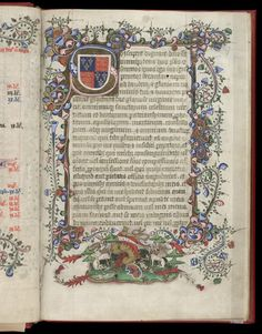 Royal 2 B I f. 7, British Library. England, 2nd quarter 15 C.