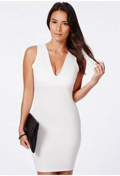 Exude sophistication in this beautiful  Missguided little white dress  LWD.  The  chic db7b48307