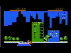 Rampage by Data East and Midway Games for the Nintendo Entertainment System #NES - Two player co-op ft. MacDaddyNook