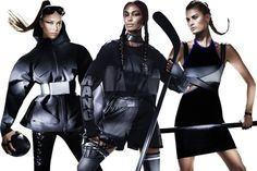 Alexander Wang's H&M Line Is Surprisingly Sporty | The first ads for Wang's line are here, and, boy, did he deliver.