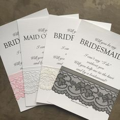 Will you be my bridesmaid? #willyoubemyflowergirl #willyoubemybridesmaid #willyoubemymaidofhonor
