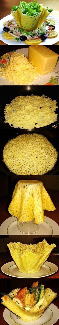 DIY Cheese Bowls DIY Cheese Bowls