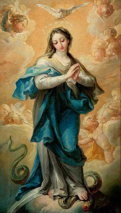 Para o Dia 8 de Dezembro De qua natus est Jesus. Maria, de quem nasceu Jesus. (S. Mat., 1, 16). Ser Maria aquela, que abran...