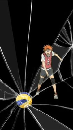 Haikyuu Hinatas Face is so funny