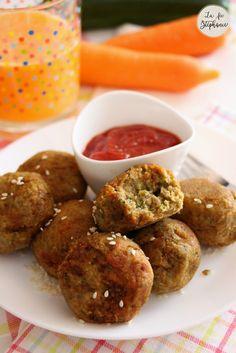 Pas toujours facile de faire manger des légumes aux enfants. Testez ma recette de boulettes végétales sans oeuf, vos enfants adoreront!