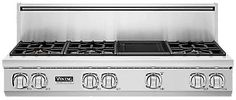 "48""W. Sealed Burner Gas Rangetop (VGRT748) - Viking Range, LLC"