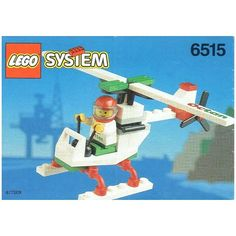 Buy LEGO Stunt Copter Set from This LEGO Town set contains 34 pieces including 1 minifig. Buy Lego, Lego Minecraft, Lego Sets, Stunts, Legos, Brick, Owl, Building, Cover