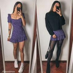 Winter Fashion Outfits, Edgy Outfits, Mode Outfits, Retro Outfits, Cute Casual Outfits, Look Fashion, Spring Outfits, Teenager Fashion Trends, Mode Geek