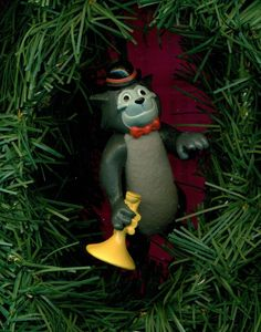 Scat Cat Trumpet Aristocats movie Disney custom theme Christmas tree ornament  #Disney