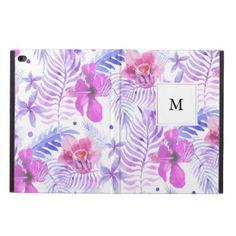 Tropical Nature Flower Powis iPad air 2 case - patterns pattern special unique design gift idea diy