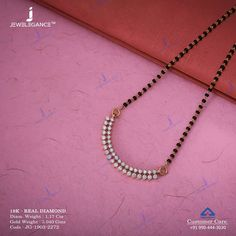 Get In Touch With us on Diamond Mangalsutra, Gold Mangalsutra Designs, Gold Earrings Designs, Gold Diamond Earrings, Gold Jewellery Design, Handmade Jewellery, Gold Bangles, Gold Jewelry Simple, Instagram