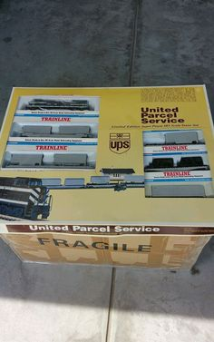 Walthers Train Set United Parcel Service #Walthers