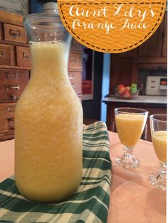 vanilla infused frozen orange juice.  a delicious addition to any breakfast!! YUM.