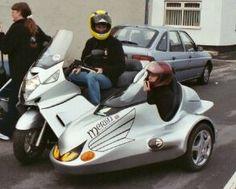 HONDA SILVERWING 600 SIDECAR by scooterworld, via Flickr