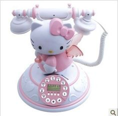 novelty items antique classic caller ID telephone CID beautiful hello Kitty toys for children home decoration kit _ {categoryName} – AliExpress Mobile Version – - Modern Hello Kitty Zimmer, Hello Kitty Haus, Hello Kitty Bedroom, Hello Kitty Kitchen, Hello Kitty My Melody, Hello Kitty Stuff, Hello Kitty Products, Hello Kitty Room Decor, Hello Kitty Collection