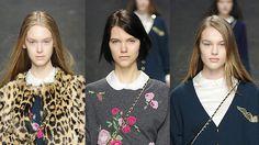 Lo Mejor de Milán Fashion Week Otoño – Invierno 2013/2014   Primera Parte