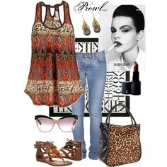 Prowl..., created by charlotte-bilton-carver on Polyvore