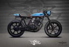 Yamaha SR customdesign for BOOR CUSTOM